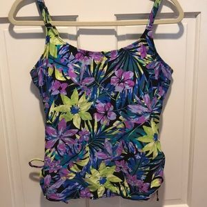 🏖 Tropical Escape Tankini Top Only 🏖